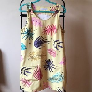 MissLook Retro Style Dress | Tropical print